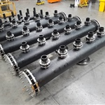 500OD and 280OD Manifolds for mineral extraction project